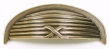 Top Knobs<br />M939 - Ribbon &amp; Reed Cup handle in German Bronze 3&quot; C to C