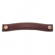 "Turnstyle Designs<br />A1180 - Bow Leather, Cabinet D Handle, Large 6 5/16"" CC"