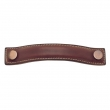 "Turnstyle Designs<br />A1181 - Bow Leather, Cabinet D Handle, Medium 5 1/16"" CC"