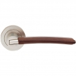 Turnstyle Designs<br />C1010 - Combination Leather, Door lever, Bow