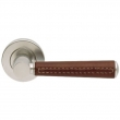 Turnstyle Designs<br />C1012 - Combination Leather, Door lever, Tube Stitch Out