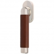 Turnstyle Designs<br />C2525/C2551 - Combination Leather, Tilt and turn window handle, Oval Angle Stitch In