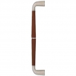 Turnstyle Designs<br />CF1607 - Combination Leather Goose Neck, Door pull, Tube Split Stitch Out