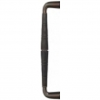 Turnstyle Designs<br />DF1059 - Combination Amalfine Goose Neck, Door pull, Bamboo