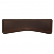 Turnstyle Designs<br />H1195 - Saville Leather, Cabinet Cup Handle, Medium Wave 6 23/32&quot;