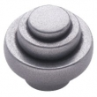 Turnstyle Designs<br />N1135 - Natural Composite, Cabinet Knob, Small Deco Step, 1 5/32&quot;