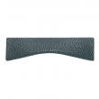 Turnstyle Designs<br />N1731 - Surface Amalfine, Cabinet cup handle, Medium Shagreen Wave