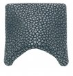 Turnstyle Designs<br />N1732 - Surface Amalfine, Cabinet cup handle, Small Shagreen Wave