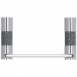 Turnstyle Designs<br />P1220 - Recess Amalfine, Toilet paper holder, Shagreen