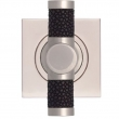 Turnstyle Designs<br />P2660 - Recess Amalfine, Door T bar, Shagreen