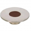 Turnstyle Designs<br />R1204 - Recess Leather, Cabinet knob, Large Circle