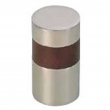 Turnstyle Designs<br />R1206 - Recess Leather, Cabinet knob, Cylinder