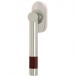 Turnstyle Designs<br />R1622/R2552 - Recess Leather, Tilt and turn window handle, Barrel Short - Stitch In