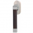 Turnstyle Designs<br />R2529/R2558 - Recess Leather, Tilt and turn window handle, Radius Square ( stitch in )