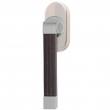 Turnstyle Designs<br />R2530/R2559 - Recess Leather, Tilt and turn window handle, Radius Square ( stitch out )