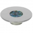 Turnstyle Designs<br />RS1202 - Recess Shell, Cabinet knob, Small Circle