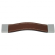 Turnstyle Designs<br />U1684 - Strap Leather, Cabinet pull handle, Square