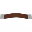 Turnstyle Designs<br />UP1684 - Strap Leather, Cabinet pull handle, Square