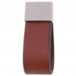Turnstyle Designs<br />UP1882 - Strap Leather, Cabinet pull handle, Square Loop