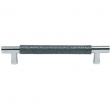 Turnstyle Designs<br />Y1669 - Surface Amalfine, Cabinet D handle, Shagreen
