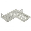 Deltana<br />WBHDCR9 - Bathroom Basket HD Corner Right 9""