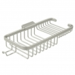 "Deltana<br />WBR1051H - Wire Basket 10-3/8"", Rectangular Deep &amp; Shallow, With Hook"