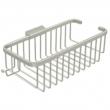 "Deltana<br />WBR1054H - Wire Basket 10-3/8"", Deep, Rectangular With Hook"