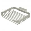 "Deltana<br />WBR6050 - Wire Basket, 6"" Rectangular Soap Holder"