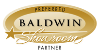 We are a Baldwin Preferred Showroom